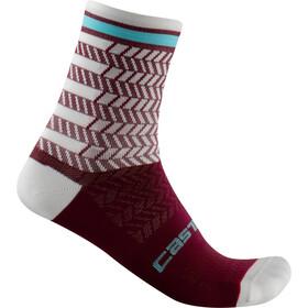 Castelli Avanti 12 Socks, rojo